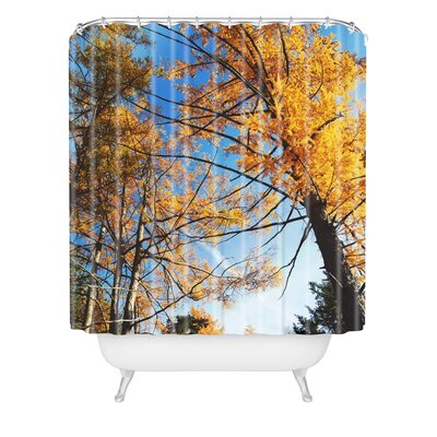 The Autumn Sky Shower Curtain