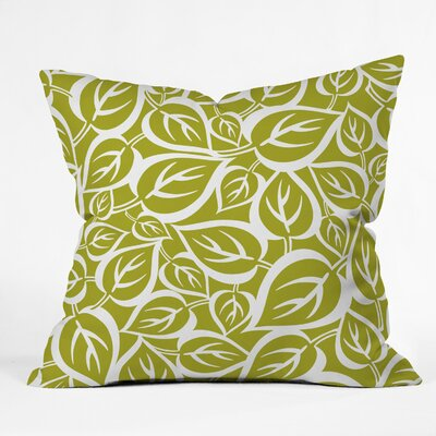 Falling Foliage Throw Pillow Size: 20 H x 20 W x 6 D