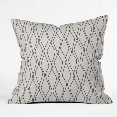 Fuge Stone Throw Pillow Size: 18 H x 18 W x 5 D