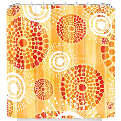 Design Festive Batik Shower Curtain