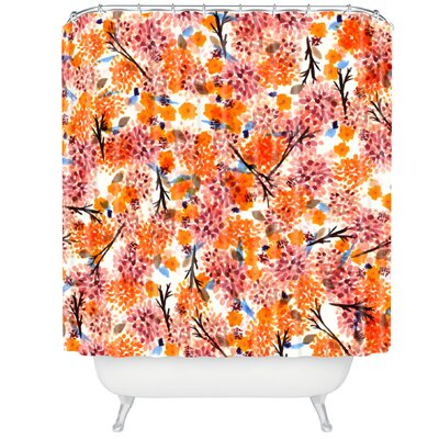 Floral Forest Shower Curtain