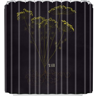 Joy Laforme Herb Garden Dill Shower Curtain