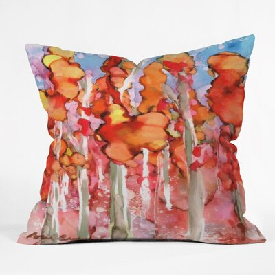 Rosie Brown Awesome Autumn Throw Pillow Size: 18 H x 18 W x 5 D