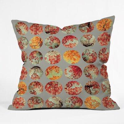 Inkblot Quilt Throw Pillow Size: 18 H x 18 W x 5 D