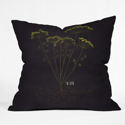Dill Throw Pillow Size: 18 H x 18 W x 5 D