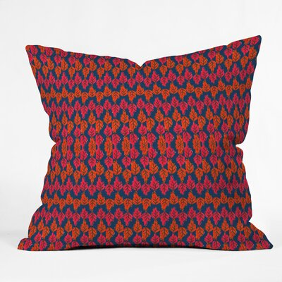 Fall Stripe Throw Pillow Size: 16 H x 16 W x 4 D