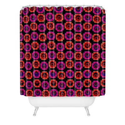 Fall Floral Shower Curtain
