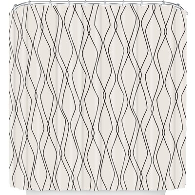 Fuge Stone Shower Curtain