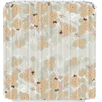 White Frost Shower Curtain