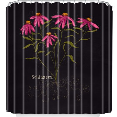 Echinacea Shower Curtain