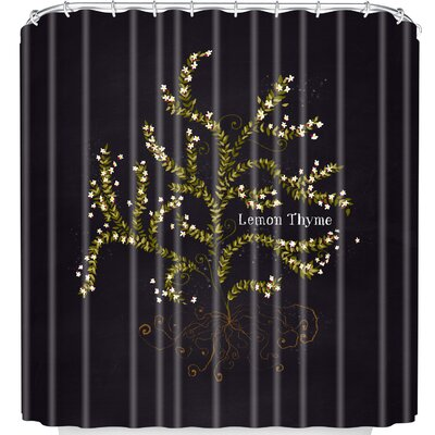 Lemon Thyme Shower Curtain
