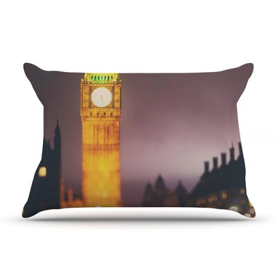 Laura Evans Westminster At Night Pillow Case