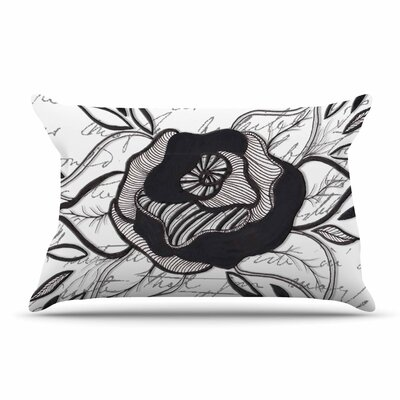 Li Zamperini Like A Rose Pillow Case