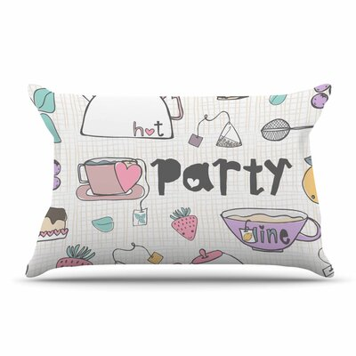 MaJoBV Tea Party Pillow Case