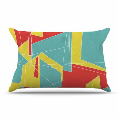 MaJoBV Cartagena Walls Geometric Pillow Case