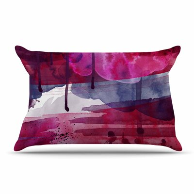 Li Zamperini Purple Pillow Case