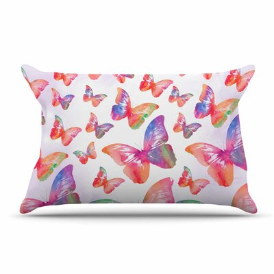 Li Zamperini Butterfly Pillow Case