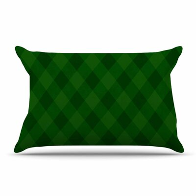 Matt Eklund Deep Current Pillow Case Color: Green