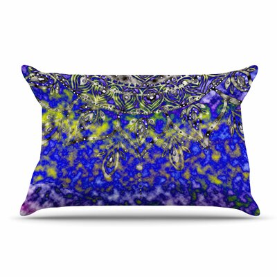 Li Zamperini Multicolor Mandala Art Abstract Pillow Case