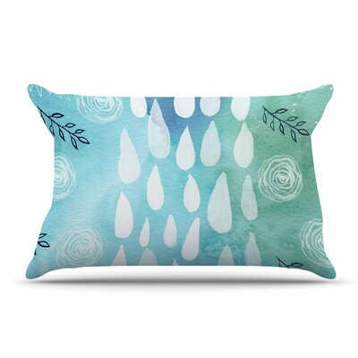 Li Zamperini Rain Pillow Case