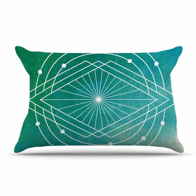 Matt Eklund Atlantis Geometric Pillow Case