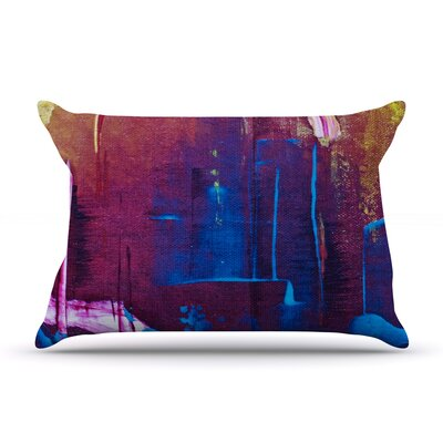 Malia Shields Cityscape Abstracts Pillow Case