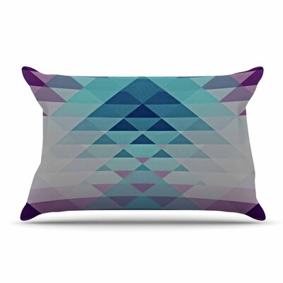 Nika Martinez Hipster Pillow Case Color: Blue/Lavender