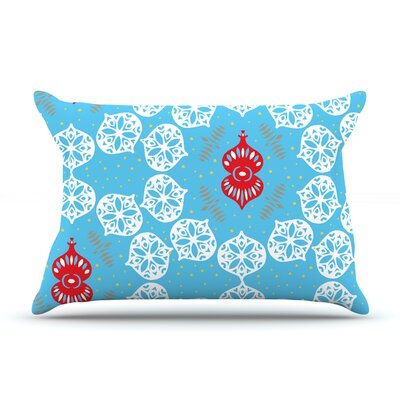 Miranda Mol Frosted Holiday Pillow Case