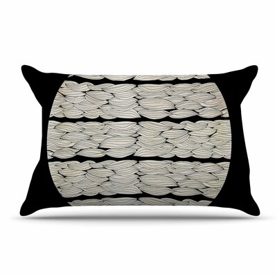 Pom Graphic Design La Luna Nature Illustration Pillow Case