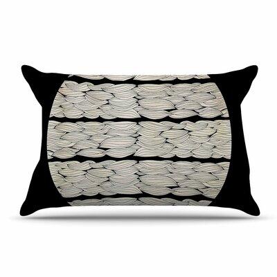 Pom Graphic Design La Luna Nature Illustration Pillow Case