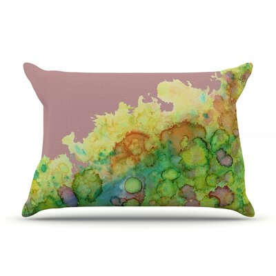 Rosie Brown Sea Life Pillow Case Color: Pink