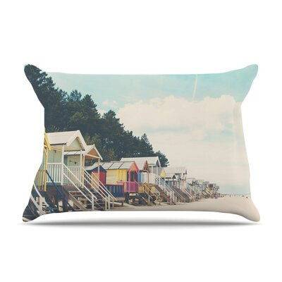 Laura Evans Small Spaces Beach Coastal Pillow Case