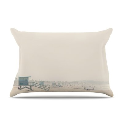 Laura Evans Summer Haze Coastal Pillow Case