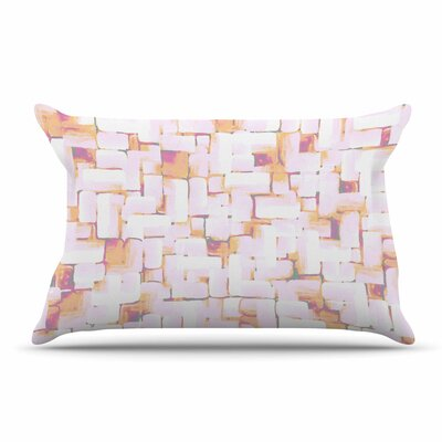 Rachel Watson Cobble Coral Pillow Case