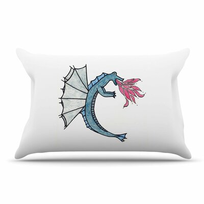 NL Designs Water Dragon Pillow Case
