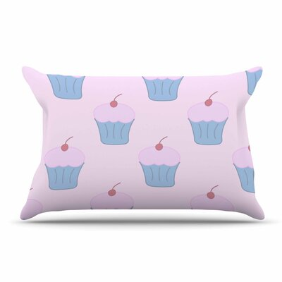NL Designs Holiday Floral Pillow Case Color: Pink