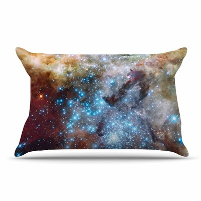 Suzanne Carter Star Cluster Space Pillow Case