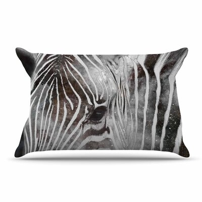 Suzanne Carter Space Zebra Celestial Stripes Pillow Case