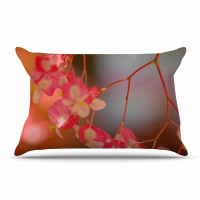 NL Designs Hanging Flowers Floral Pillow Case