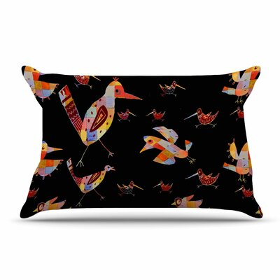 Marianna Tankelevich Birds Abstract Pillow Case