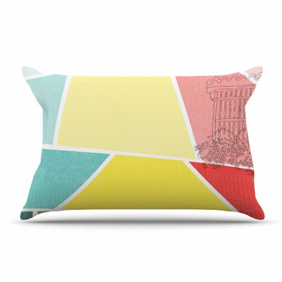 MaJoBV Cartagena Balconies Pillow Case