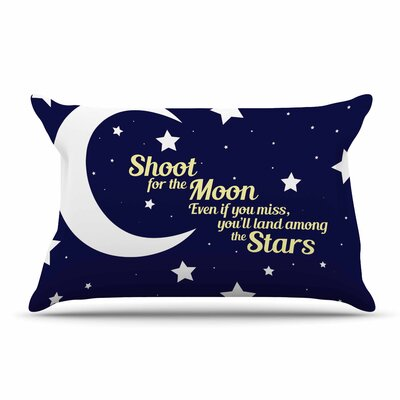 NL Designs Moon And Stars Quote Pillow Case