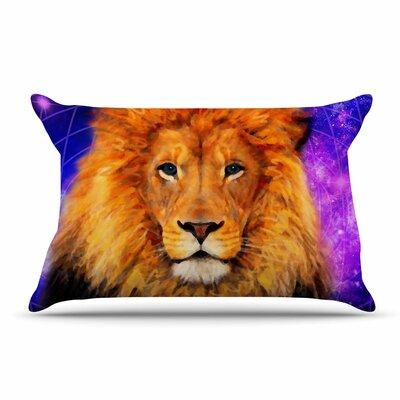 NL Designs Space Lion Pillow Case