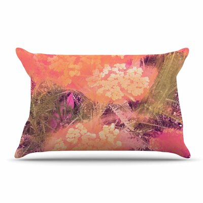 Nina May Yellow Wildflowers Pillow Case