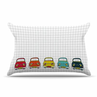 MaJoBV Boys Rock Cars Pillow Case