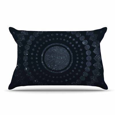 Matt Eklund Lunar Confetti Geometric Pillow Case