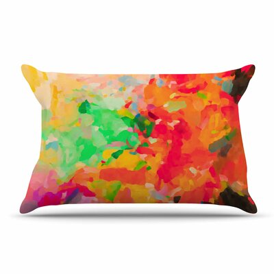 Oriana Cordero La Rochelle-Abstract Pillow Case
