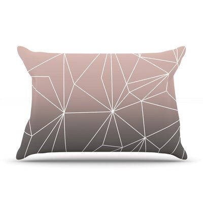 Mareike Boehmer Simplicity Pillow Case Color: Brown