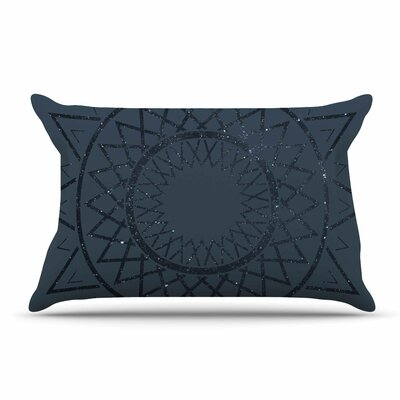 Matt Eklund Lunar Sundial Geometric Pillow Case
