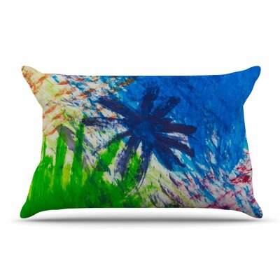 NL Designs Splatter Stars Abstract Painting Pillow Case